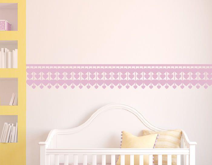 Cenefas infantiles de pared en vinilo adhesivos | Ideas para el ...