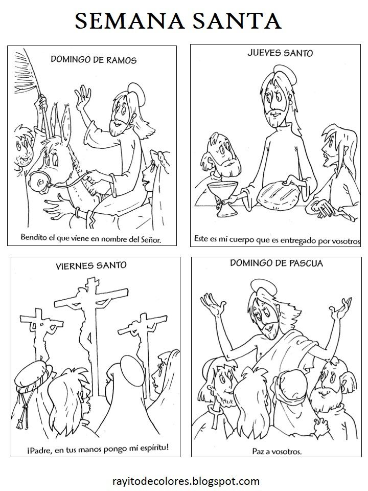 Semana Santa   catequesis   Pinterest   Semana santa, Santos y ...