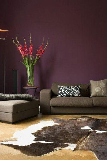Purple Modern Purple Living Room Purple Living Room Paint