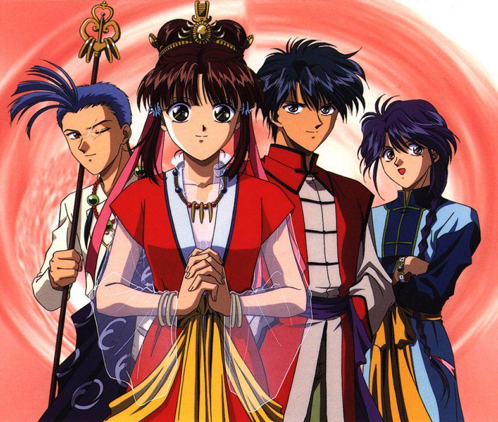 Anime Characters Born June 9 : Fushigi yuugi pinterest anime