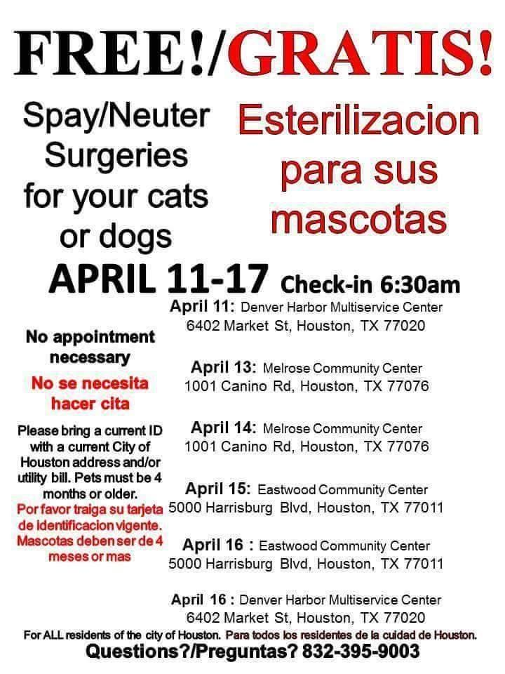 Attention Houston Residents And This Is For All Houston Residents