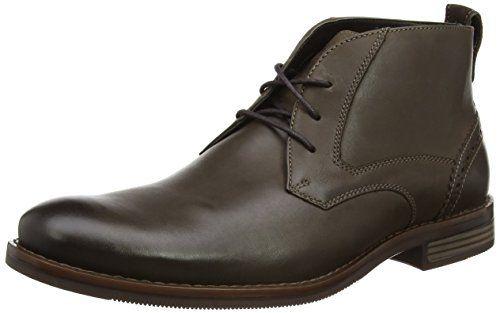 Rockport Wynstin Apron Toe, Zapatos de Cordones Oxford para Hombre, Marrón (Brown), 44.5 EU