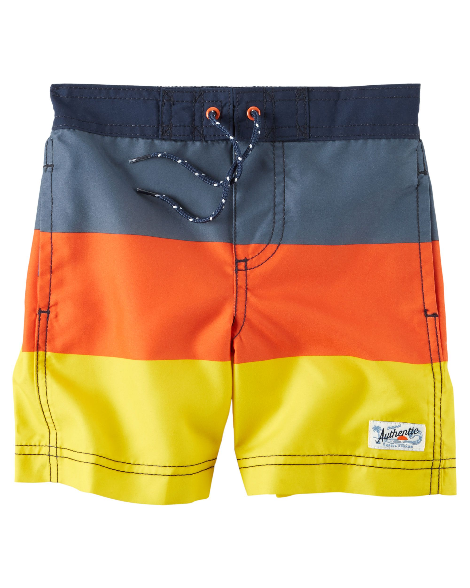 57797cf68f Baby Boy Carter's Colorblock Swim Trunks | Carters.com | Max's ...