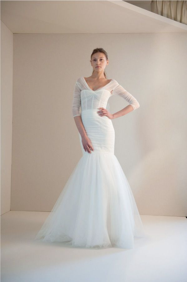 Wedding Dresses by Monique Lhuiller | Wedding | Pinterest | Monique ...
