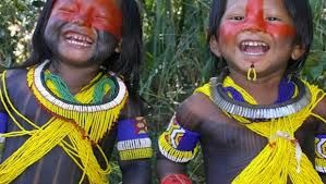 índios da etnia Guarani Kaiowá