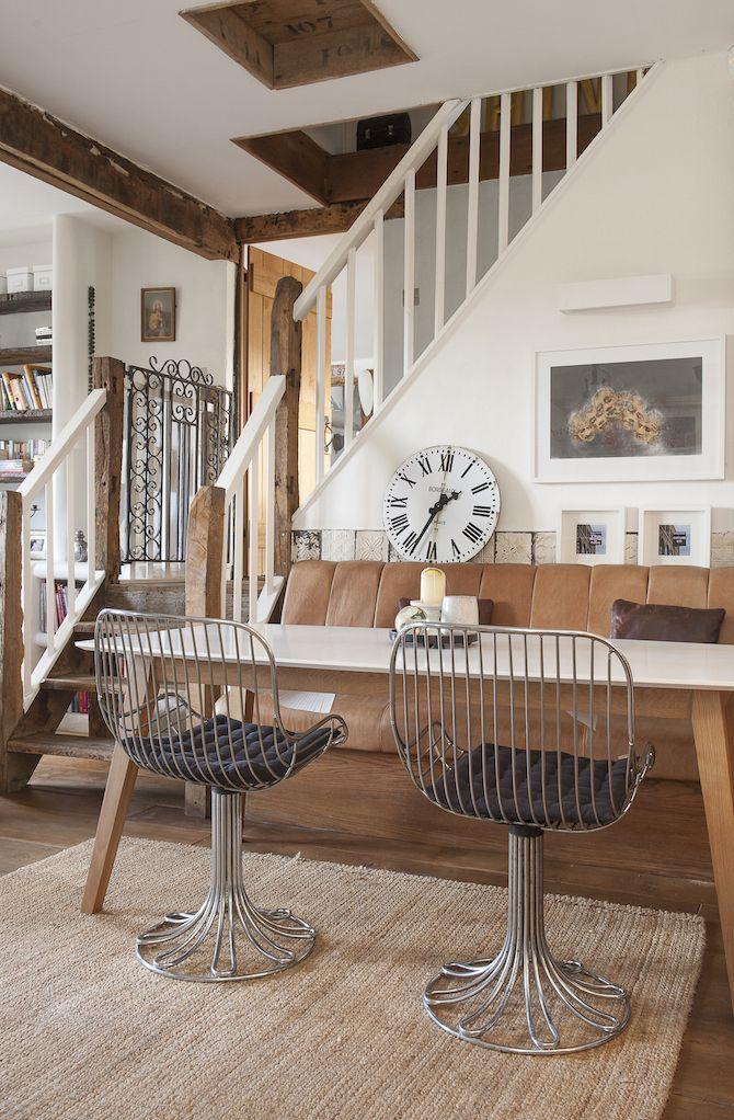 Une Grange Rehabilitee Dans Le Kent Planete Deco A Homes World Decoration Maison Inspiration Salon Deco Maison