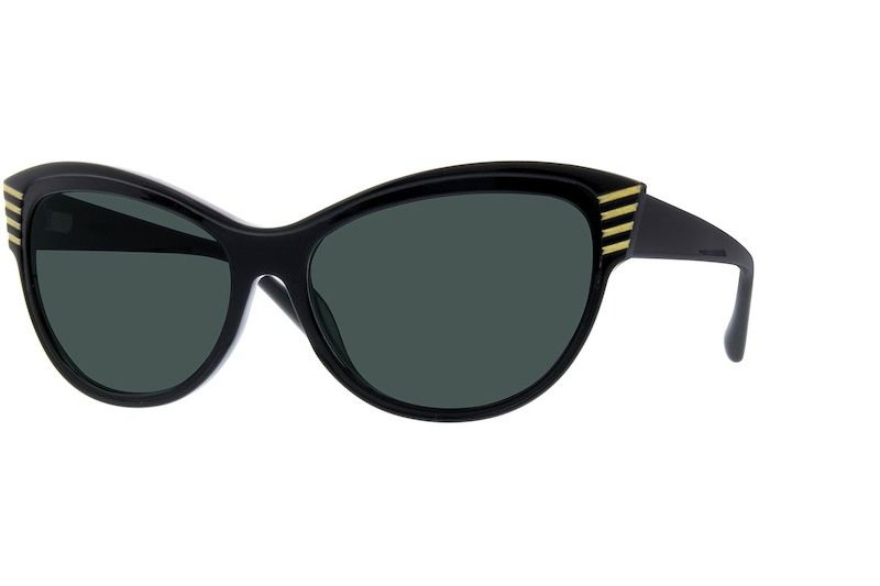 116ea3b1a3 Black Premium Cat-Eye Sunglasses  113021