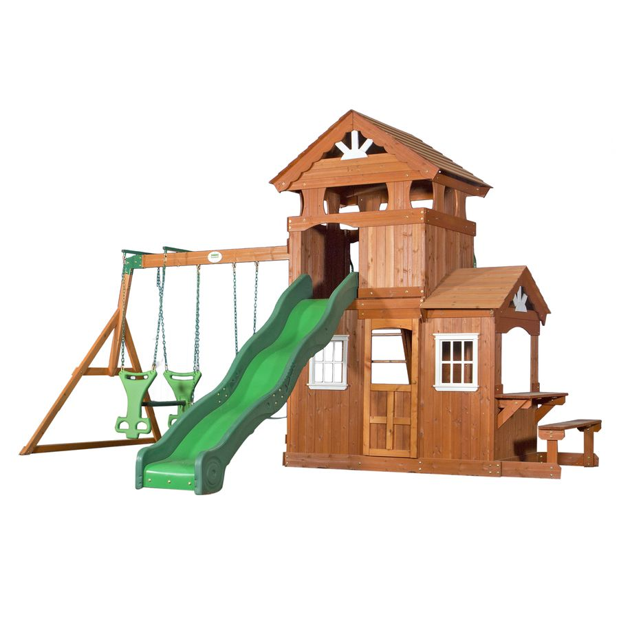Backyard Discovery Shenandoah Residential Wood Playset