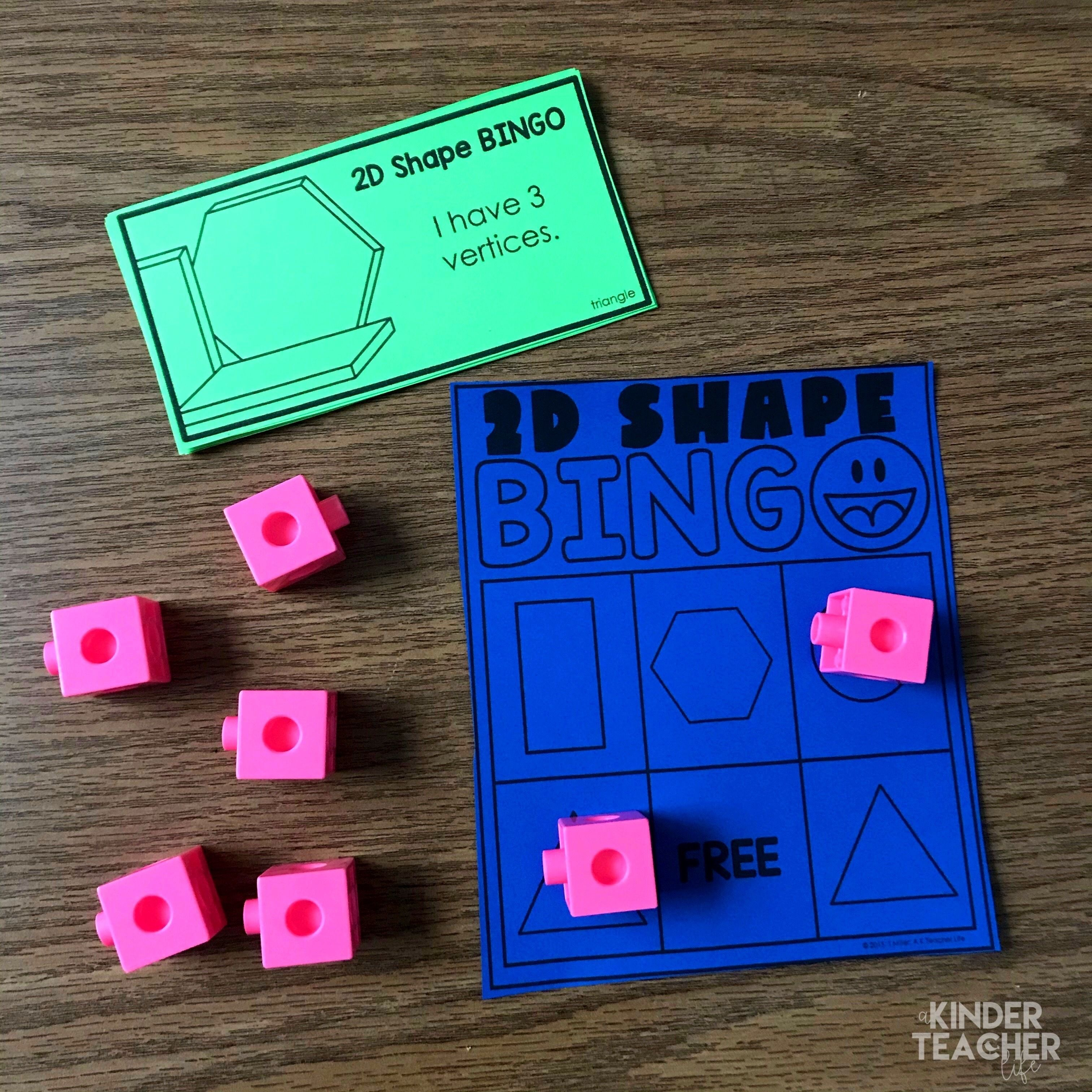 2d And 3d Shapes Activities Updated