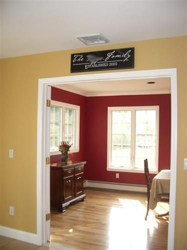 Benjamin Moore Dorset Gold For The Home Dining Room