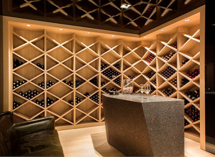 Weinkeller bauen holz  Licht und Temperatur im Weinkeller beachten | Kitchen Design ...