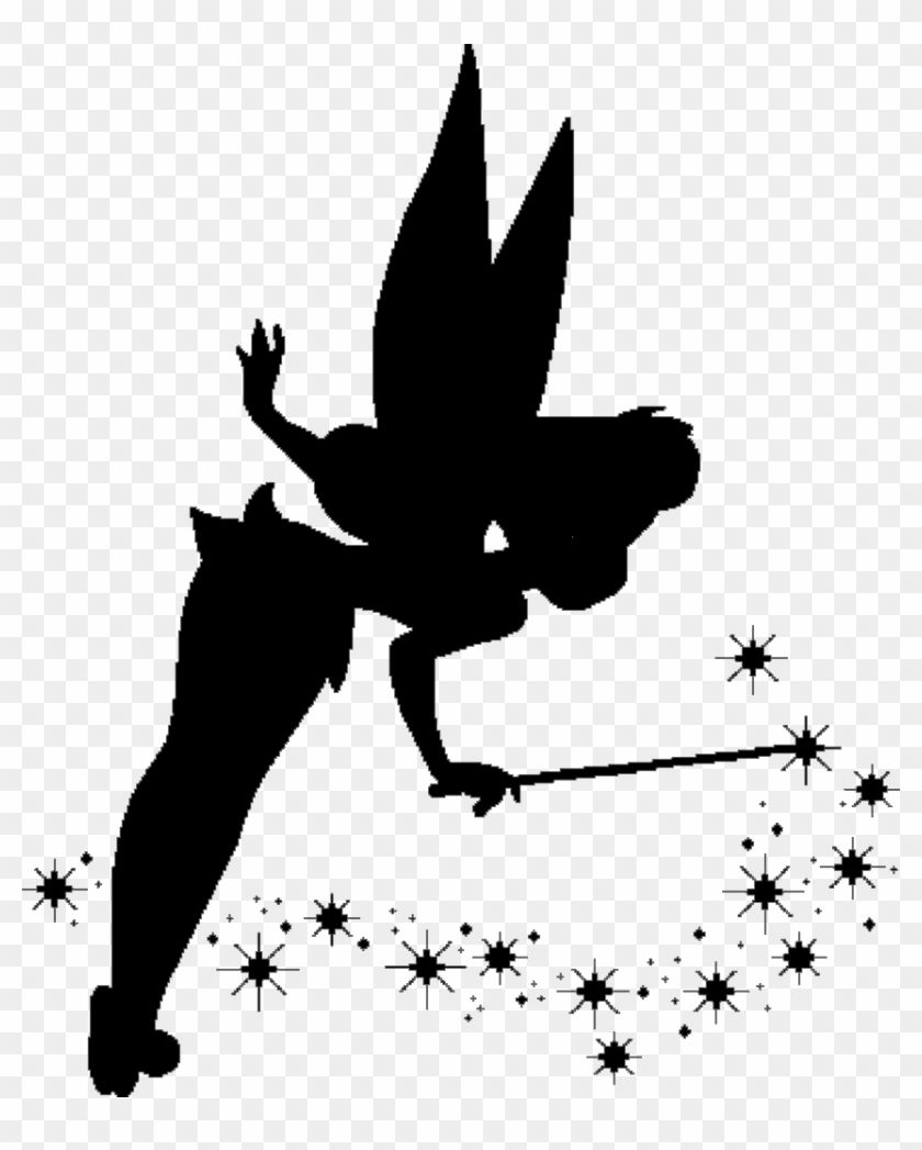 Find Hd Tinkerbell Silhouette Png Free Tinkerbell Svg Files Transparent Png To Search And Download More Free Transparent Png Images