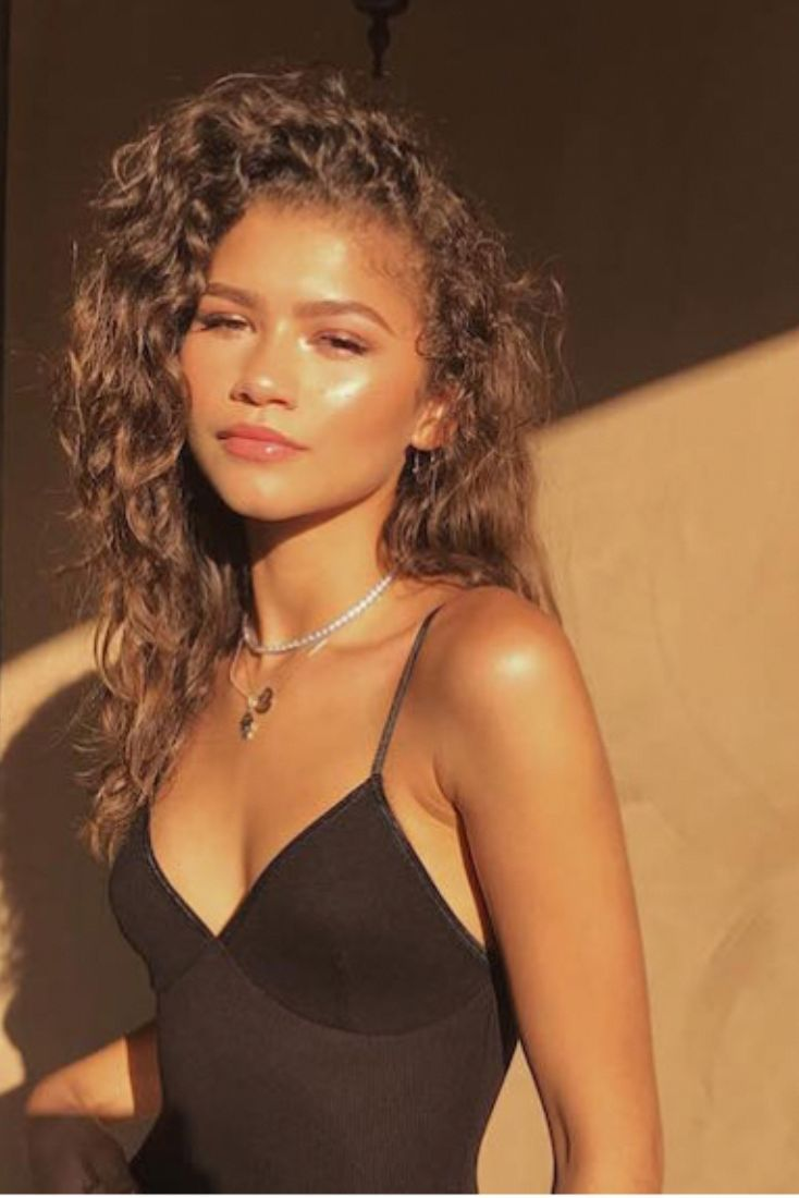 Zendaya's natural skin-care routine