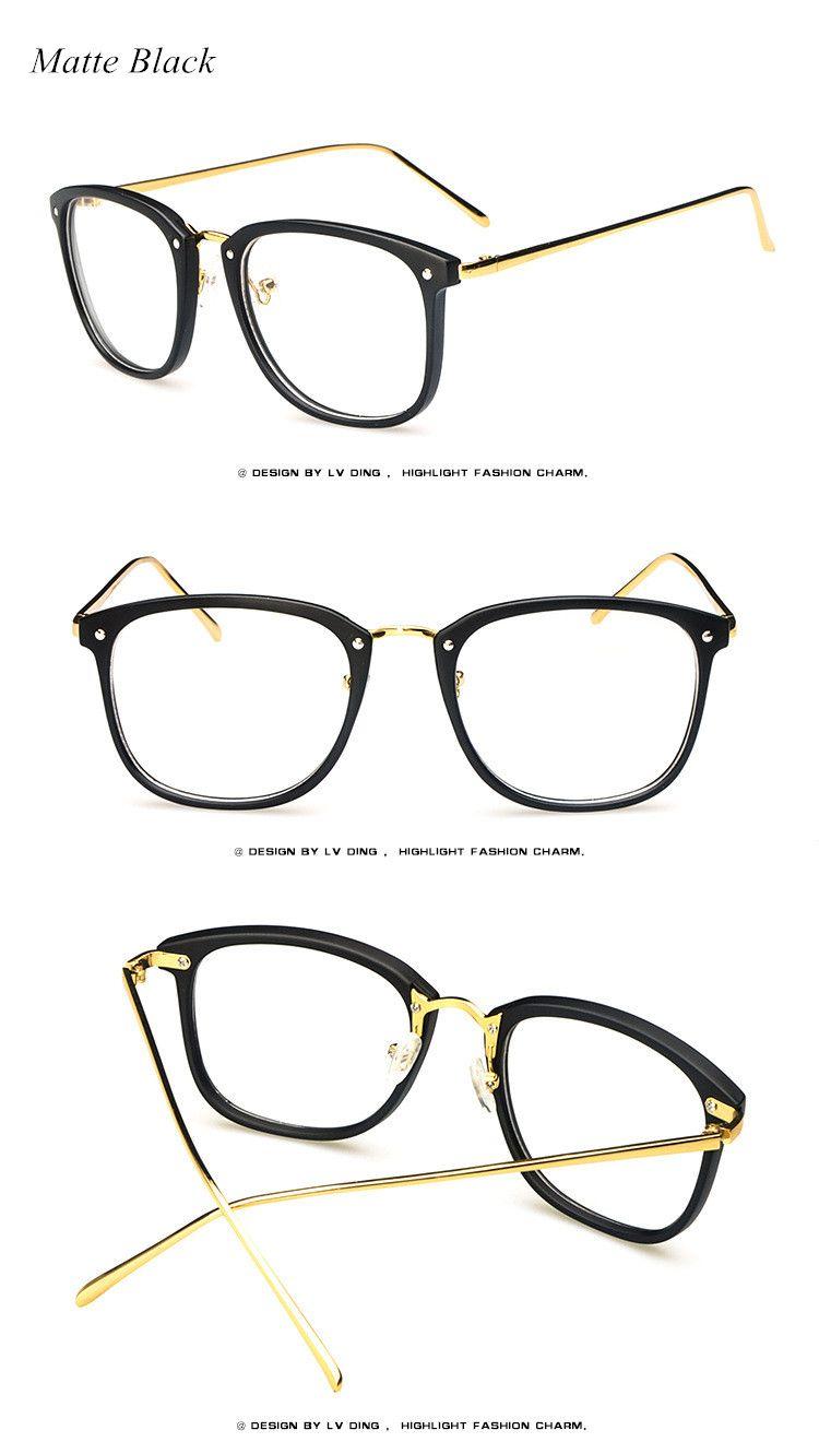 1b0075d84e9 2017 Brand Vintage Optics Eyeglasses Frame Women Fresh Spectacle Frame  Women Prescription Eyewear Trend Men Retro Clear Glasses Do you want it  Visit us