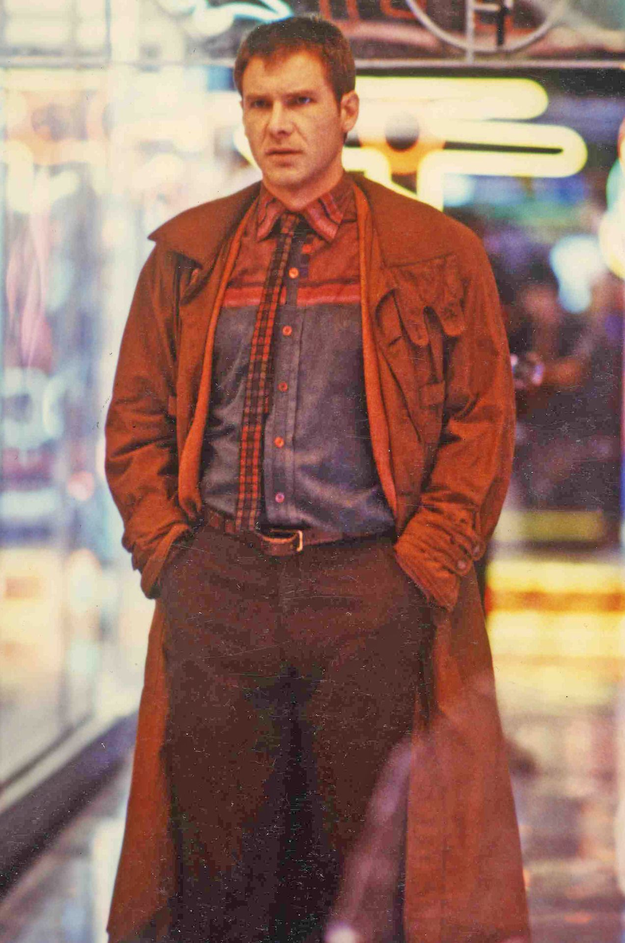 Deckard….Harrison Ford.