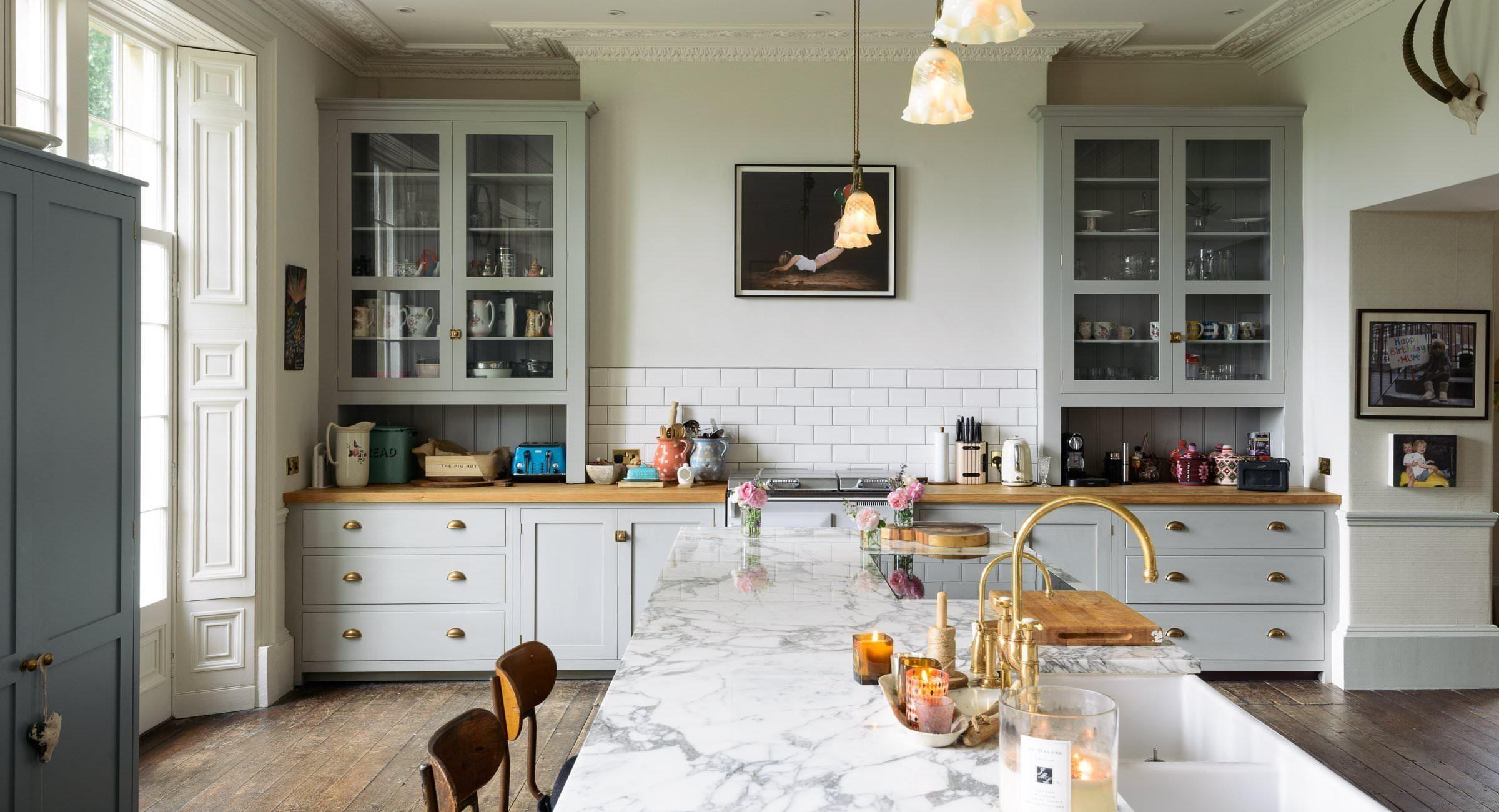 British Kitchen Inspiration And My Inset Cabinet Infatuation Devol Kitchens Country Kitchen Designs Georgian Kitchen