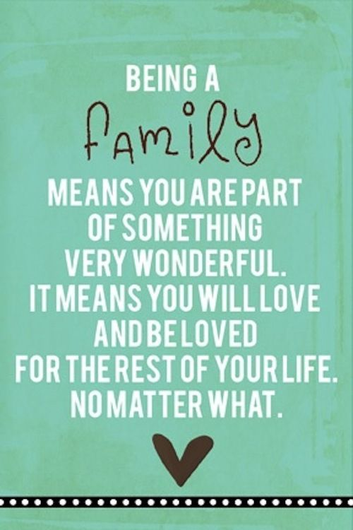 Family.   Inspirational quotes   Family quotes, Inspiring ...