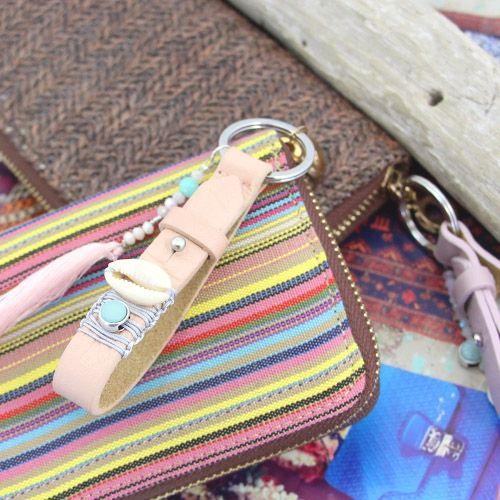 Deze Cuoio sleutelhangers zijn de perfecte basis voor trendy accessoires..