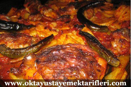 Fırında Tavuk – 8 kişilik Oktay Usta Yemek Tarifleri ...