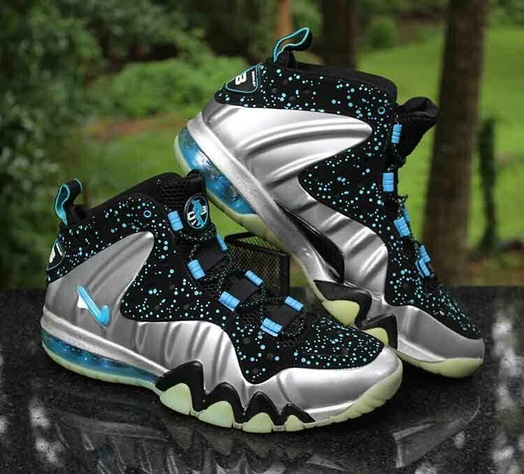 Nike Barkley Posite Max Splatter Men's Size 13 Metallic