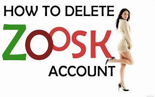 zoosk com delete account