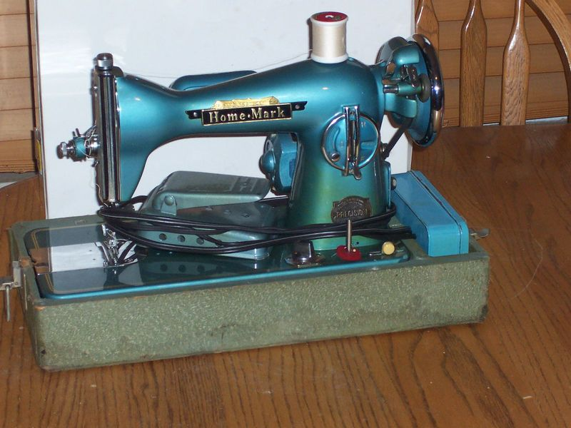 Vintage Precision Home Mark Sewing Machine Home Sewing