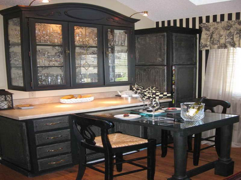 black painted kitchen cabinets ideas. Interesting Black Painted Kitchen Cabinet Ideas  The Right For The Dark  Cabinets With Classic  With Black S