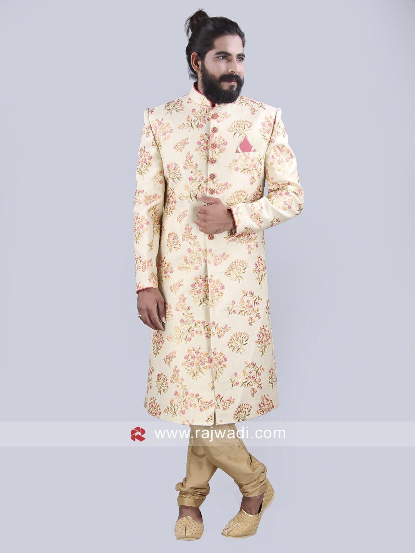 Royal designer wedding indo western sherwani rajwadi indowestern
