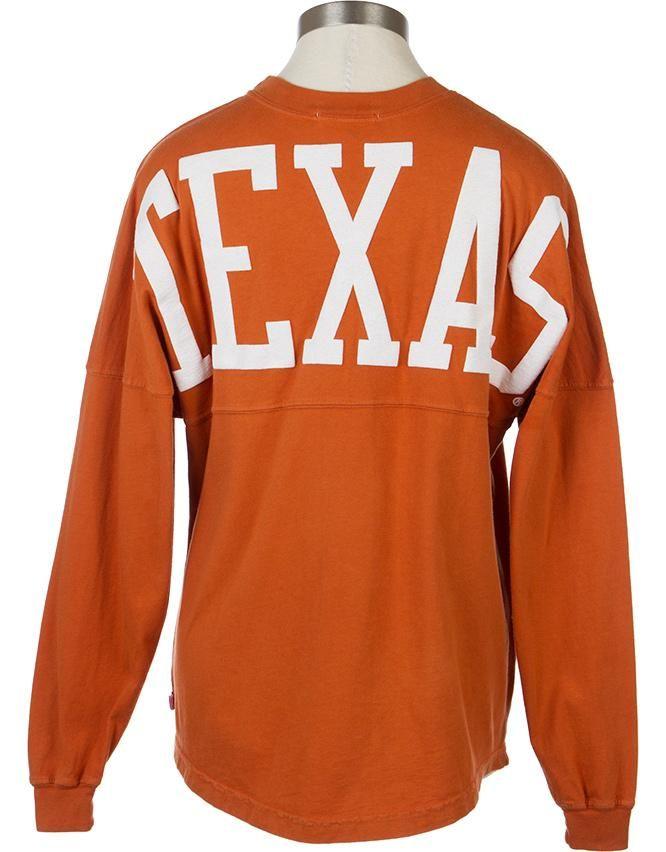 a55dc332 University Co-op Online | Ladies Sorority Football Jersey Top Texas  Football Game, Texas