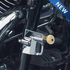 Motorcycle Accessories - Kuryakyn Helmet Lock