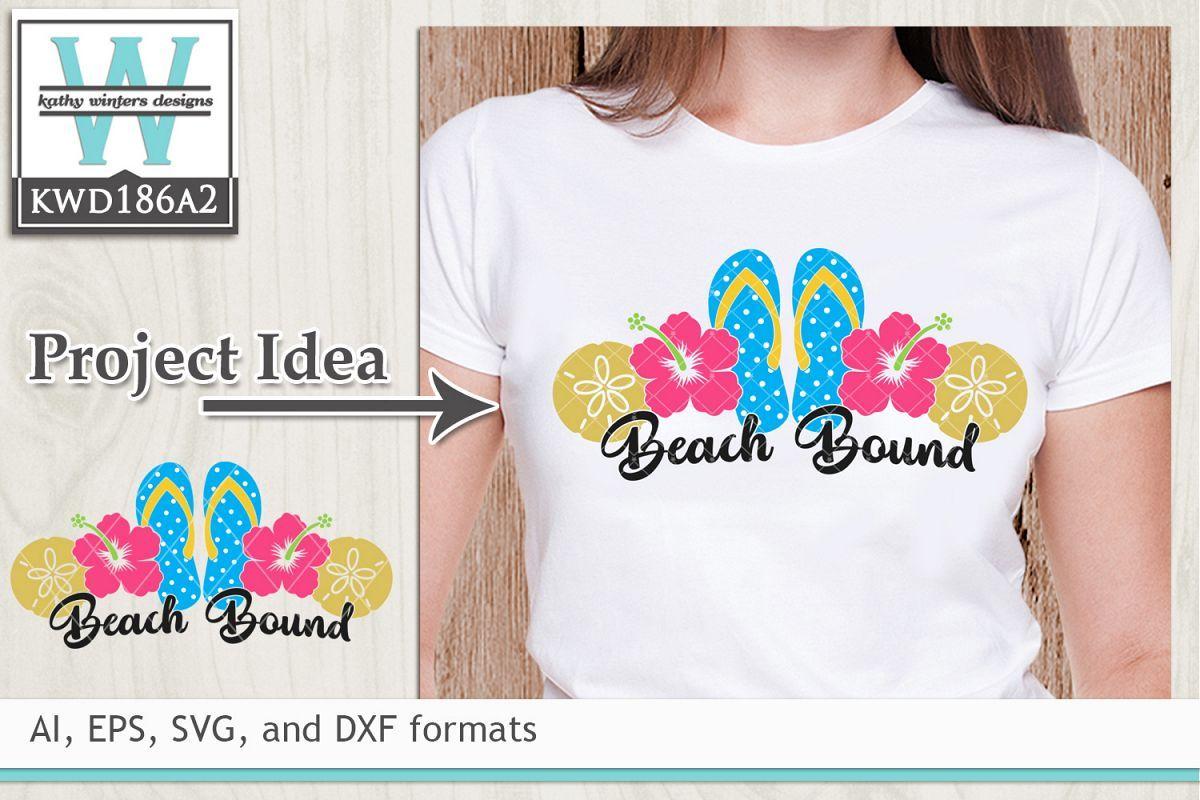 Summer Svg Beach Bound Svg Summer Design Design Bundles