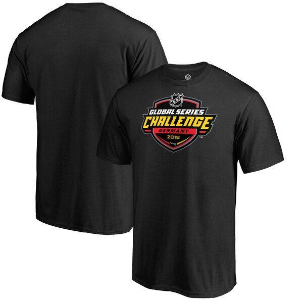 Fanatics Branded 2018 NHL Global Series Germany T-Shirt - Black