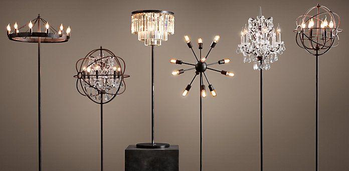 Floor Lighting Restoration Hardware Chandelier Floor Lamp Restoration Hardware Floor Lamps Floor Lamps Living Room