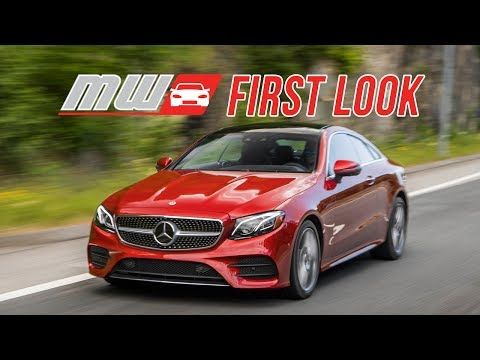 First Look 2018 Mercedes Benz E Class Coupe Lose The Doors