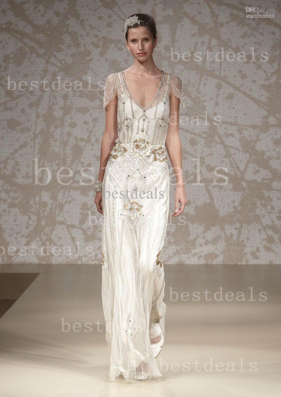 Best beach wedding dresses  Robe De Mariage  Vintage White and Pink Beach Wedding Dresses