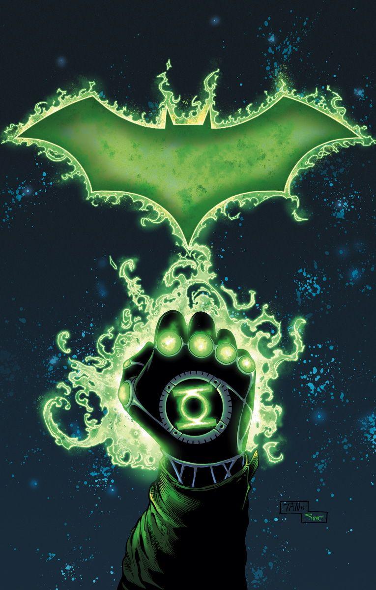 Green Lantern Party Rings