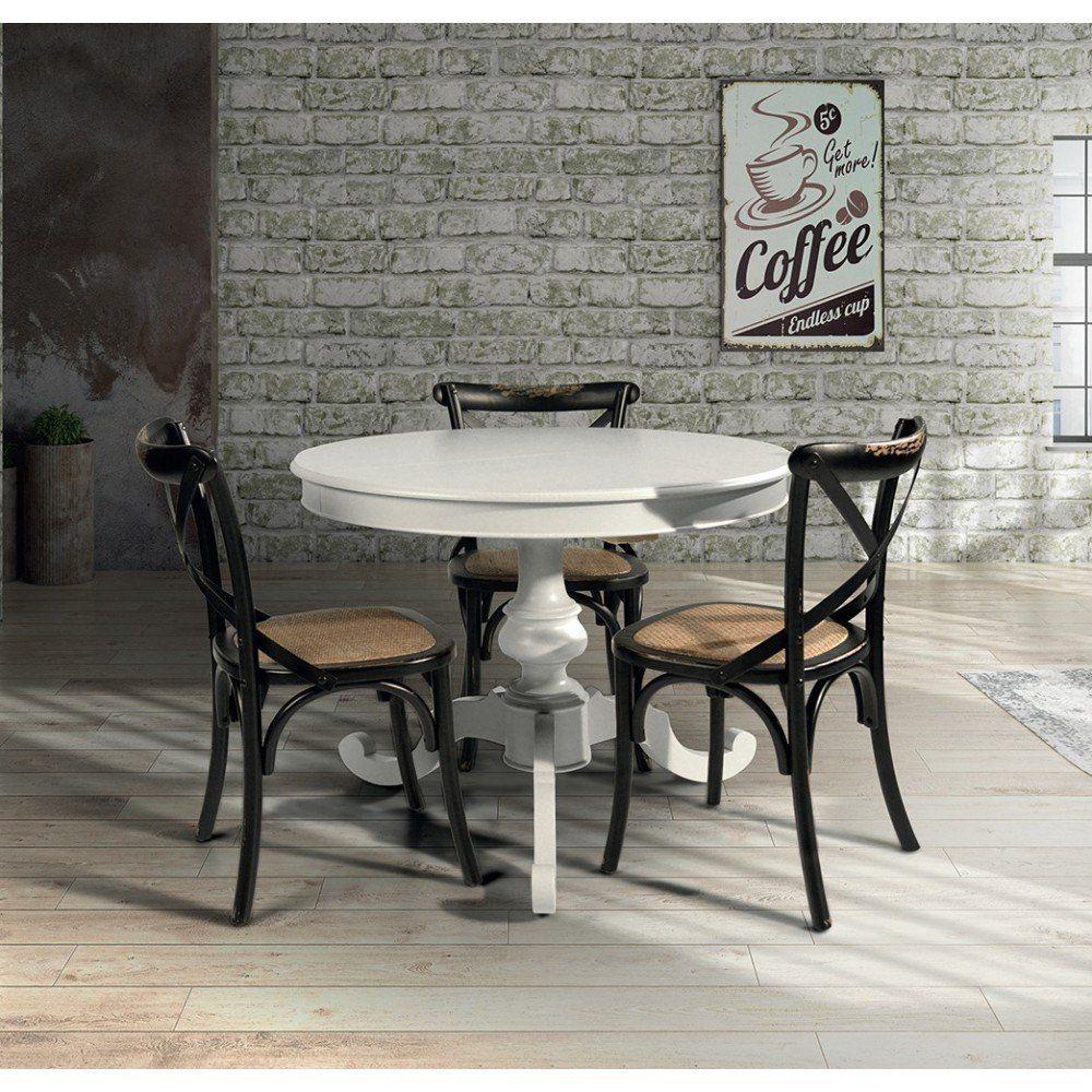 Tavolo Da Pranzo Moderno Di Design Rotondo Ø 100 Cm Con ...