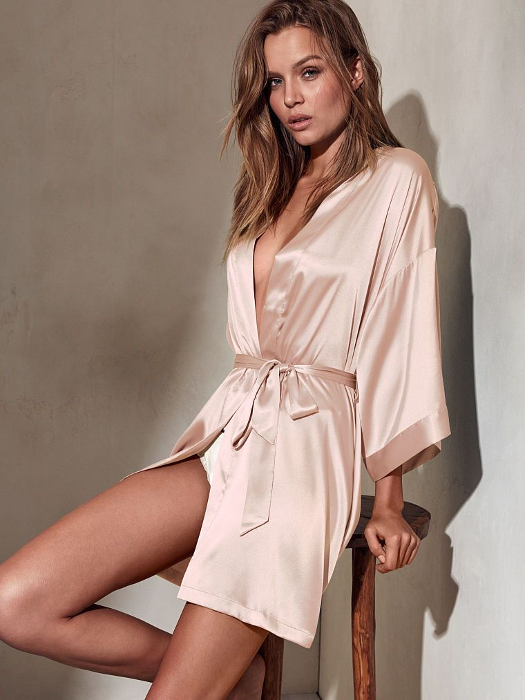 acd30332b8 Downtime gets glam with the Kimono from Victoria s Secret. Shop our  sleepwear collections for the softest