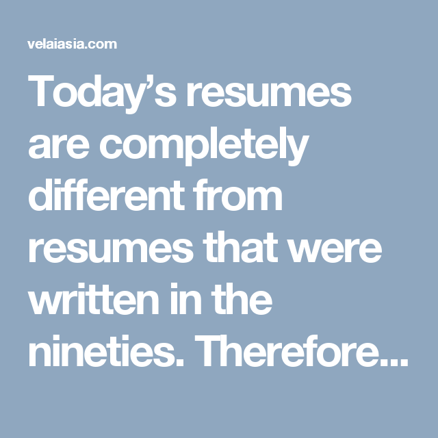 Today's resumes are completely different from resumes that were written in the nineties. Therefore, if any looking for a job or employment, then we are providing seven major tips on which the job seeker needs to do more concentrate or focus when writing a resume.