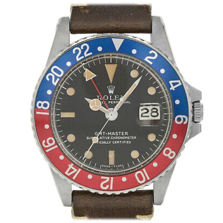 Rolex Gmt Master Ii 1675, Case, Certified And Warranty