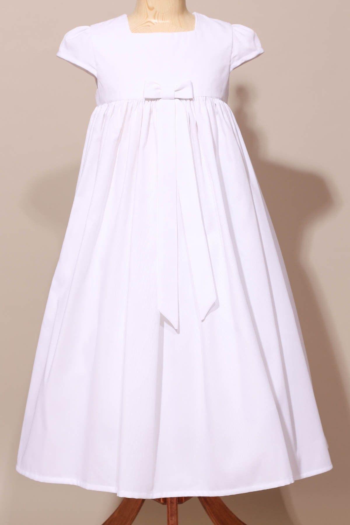 Robe classique pour fillette