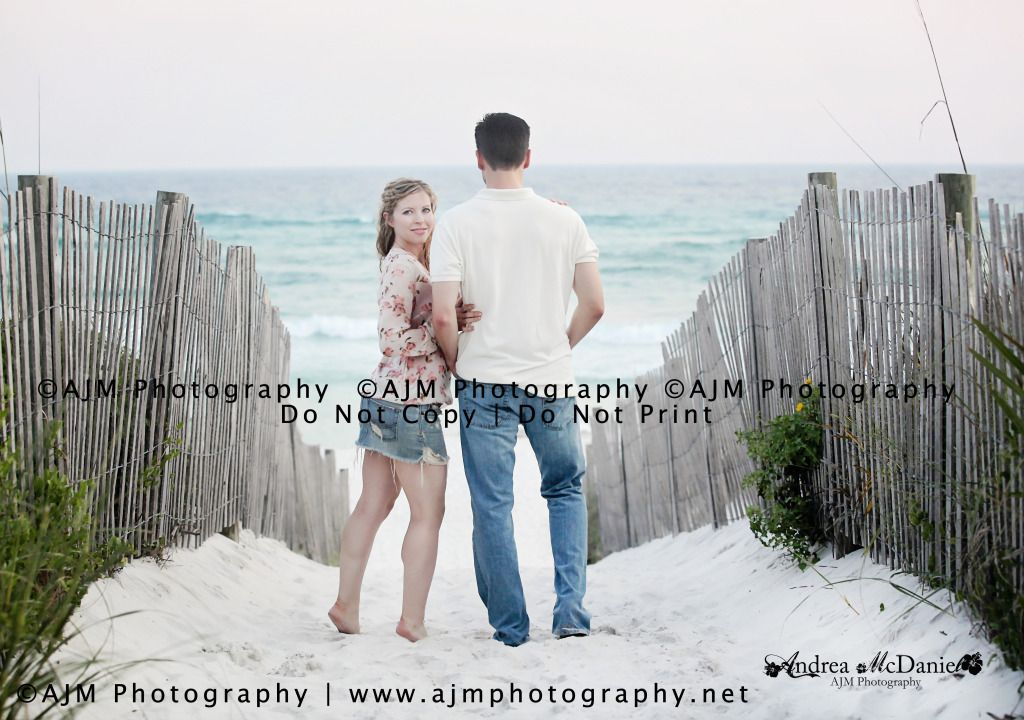 Engagement Beach Photography Beach Portraits Seaside Florida