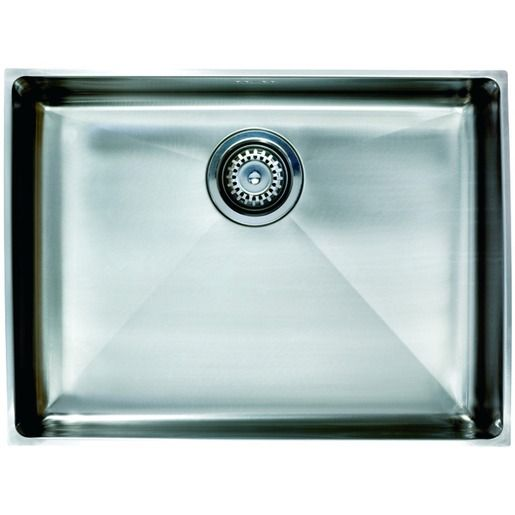 Wickes Flush Inset Large Bowl Kitchen Sink Stainless Steel ...