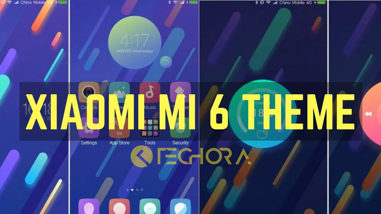 How to Install Official Xiaomi Mi 6 Stock Theme on Any