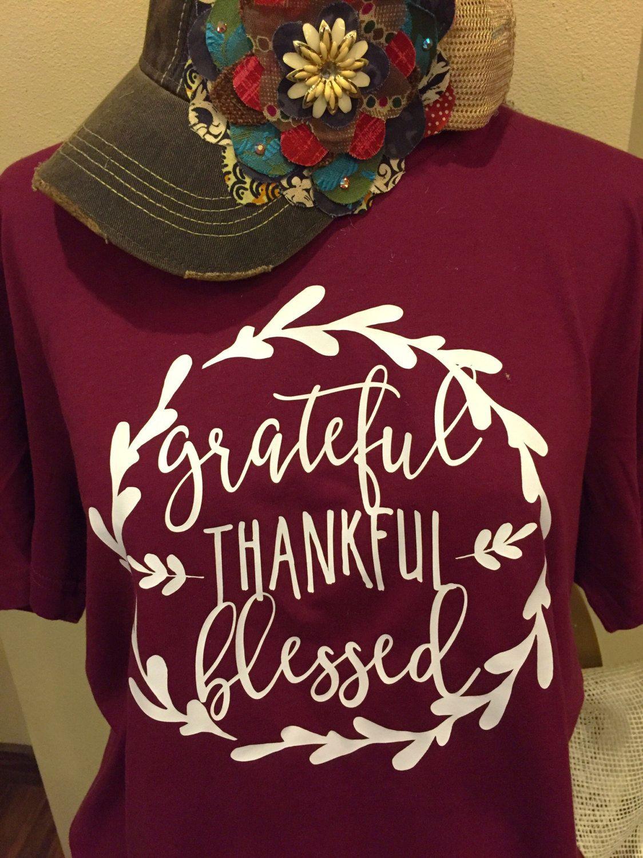 grateful shirt, thankful shirt, blessed shirt, grateful, thankful, blessed, grateful tshirt, gratitude shirt, grateful tee, Raglan