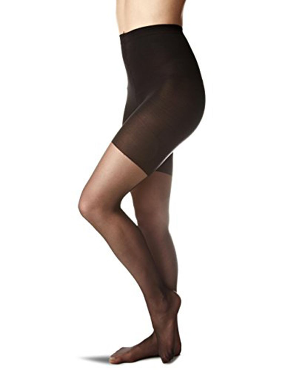 4e5ea74f8a2 SPANX Sheer Fashion Shaping Back Seam Pantyhose Fashion