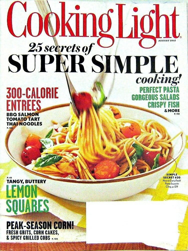 Buy one of our magazines get one free cooking light 25 secrets of buy one of our magazines get one free cooking light 25 secrets of super simple recipes august 2012 vol26 no7 forumfinder Choice Image