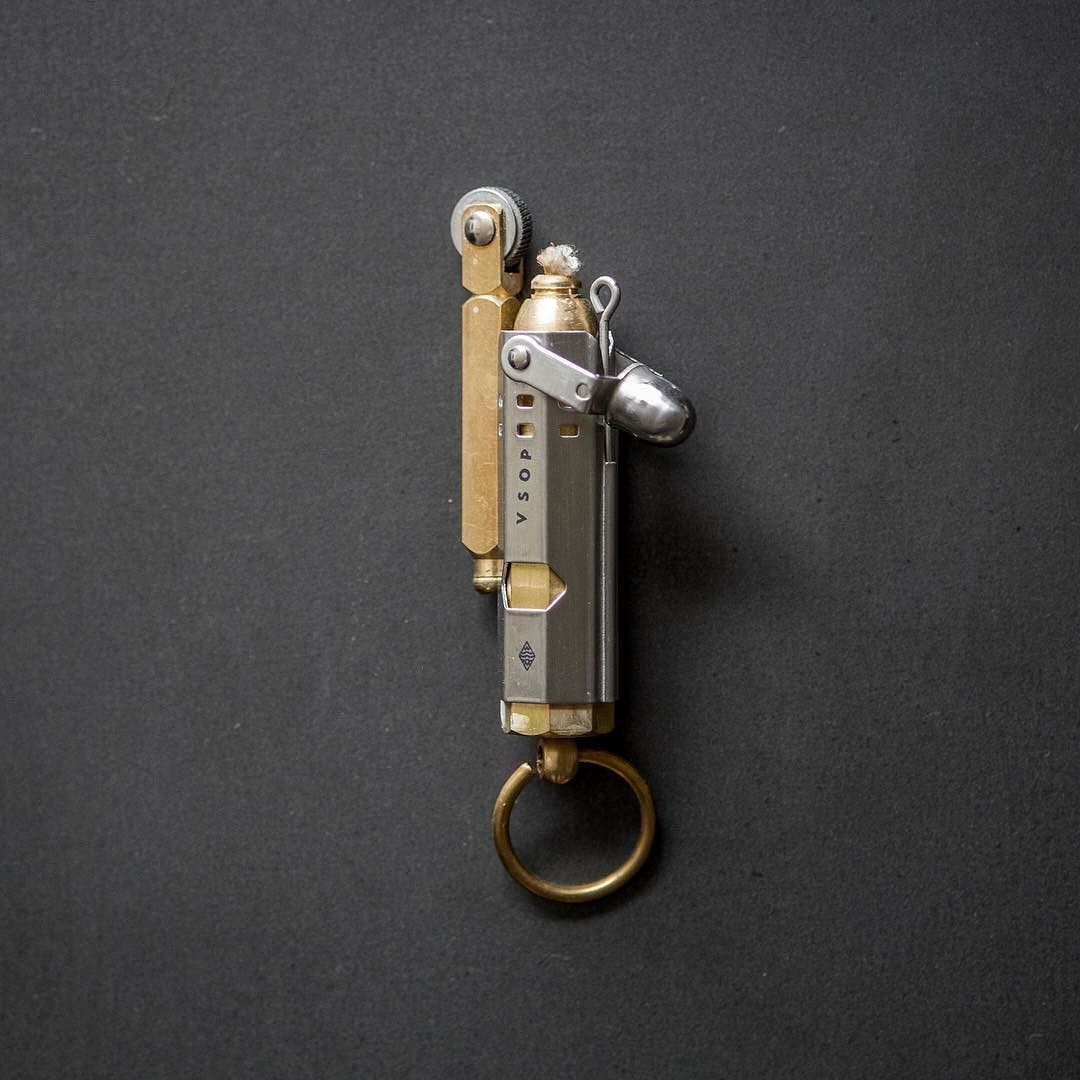 Just restocked! The Akomplice Trench Lighter is a replica of