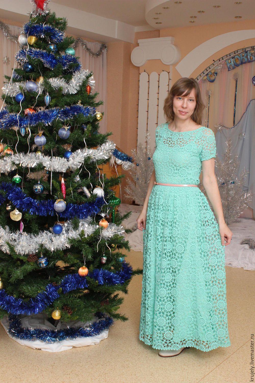 мятное платье купить