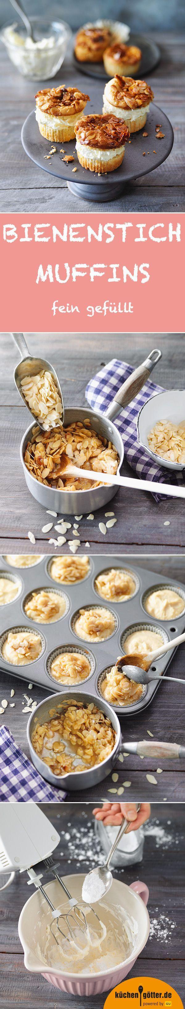 Bienenstich-Muffins #breadrecipessweet